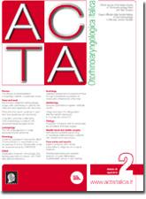 Cover of ACTA Otorhinolaryngologica Italica - Issue 2 - April 2018