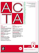 Cover of ACTA Otorhinolaryngologica Italica - Issue 6 - December 2018